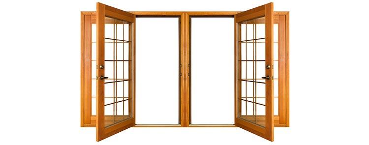 porte fenetre bois